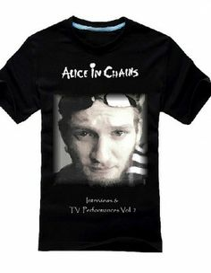 Alice In Chains T Shirt Layne Staley Creative Seattle Rock Band T-Shirt for Youth--