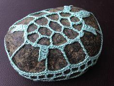Crochet Stone, Crochet Ideas, Ravelry, Crochet Earrings, Rocks, Crafts, Stones, Crocheting, Pebble Stone