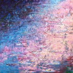 "Saatchi Art Artist Gray Jacobik; Painting, ""A Little Bit of Monet"" #art"