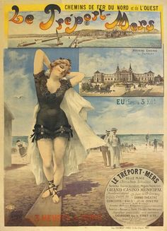 vintage posters Le Treport Mers | by vintageposters