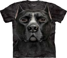 Black Pit Bull Shirt - www.AnimalShirt.net