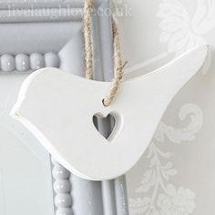 Cut Out Heart Bird - £2.95 http://www.livelaughlove.co.uk/Cut-Out-Heart-House.html