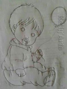 Bebê ckm balão