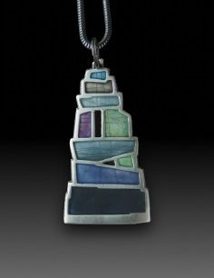 Large Pendant by Carly Wright