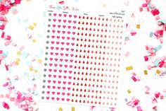 Fertility Tracking Planner Sticker Kit