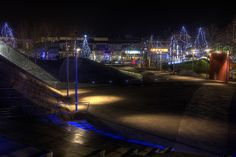 Christmassy Thermi's Square Downtown, Greece Greece, Fair Grounds, Fun, Travel, Greece Country, Viajes, Destinations, Traveling, Trips