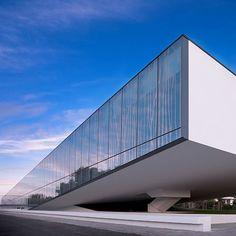 Logoplaste Building / GEODE Facade / Architects: FREDERICO VALSASSINA, ARQUITECTOS, LDA. / Picture: AFFP FILIPE POMBO