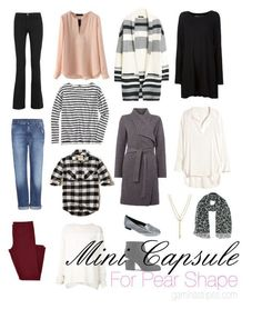 How To Create A Capsule Wardrobe for a Pear Shape