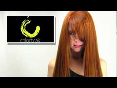 ▶ Hair Coloring Technique: Red Copper Enhancement - YouTube