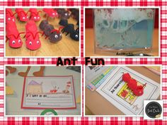 "Free ""Dear Ant Bully"" craftivity!  Erica Bohrer's First Grade: Ants!"