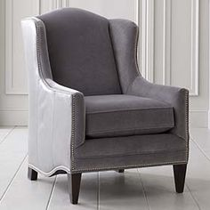 Whitney Accent Chair by Bassett Furniture This chair has a tall
