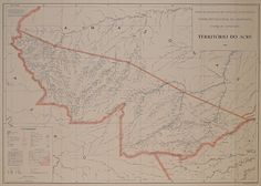 Território do Acre, 1961. Arquivo Nacional. Fundo Correio da Manhã. BR_RJANRIO_PH_0_MAP_0001 Acre, Ph, National Archives, Cartography, Mornings