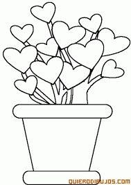 Saksıda çiçek Boyama