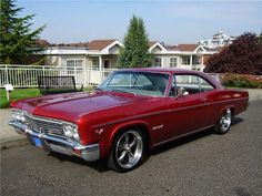Custom Chevrolet Impala SS 2 Door Hardtop 1966 owned a sky blue one jut like this one 2 care i ever owned ! 1966 Chevy Impala, Chevrolet Chevelle, Pontiac Gto, 66 Impala, General Motors, Rat Rods, Volkswagen, Toyota, Automobile