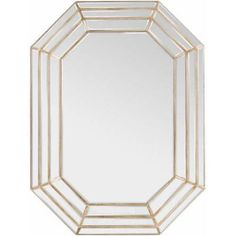 Surya Gordon Champagne Wall Mirror - GDN-7600