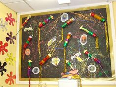 A super Fireworks classroom display photo contribution. Great ideas for your classroom! Diwali Activities, Eyfs Activities, Nursery Activities, Autumn Activities, Book Activities, Display Ideas Nursery, Nursery Display Boards, Diwali Fireworks, Fireworks Craft