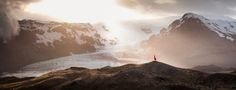 Elizabeth Gadd is a self-taught 21-year-old photographer from Vancouver, Canada. Her signature style is to photograph wanderers and adventurers in magnificent landscapes. Having been raised in scenic surroundings with mountains, forests and fields, she loves to wander and explore.