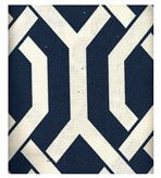 Navy and White.....want this fabric
