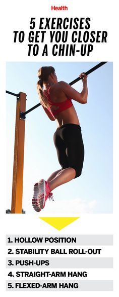 5 Exercises to Get You Closer to Doing a Chin-Up