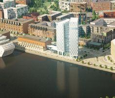 Clarion Hotel Helsinki on 16-kerroksinen ja 78 metriä korkea. Hotellin rakennustyöt alkoivat maaliskuun puolivälissä ja avajaiset on kaavailtu lokakuulle 2016.