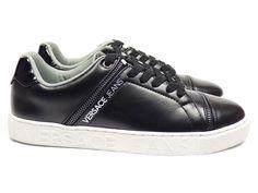 0fa4b23f0eb Versace jeans sneakers 77199 - zwart vind je bij Emmen schoenen de (online)  winkel voor mooie schoenen