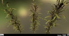 ArtStation - DOOM - Interior Foliage , Jeremy Thurman