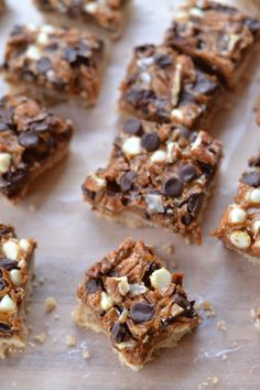 Dulce de Leche Cookie Bars | mountainmamacooks.com