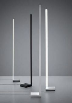 Pivot floor lamp is in white-painted, anthracite-painted or light grey-painted aluminium structure, available in LED, designed by Vittorio Massimo Industrial Floor Lamps, Design Industrial, Led Light Design, Lighting Design, Luminaria Diy, Diy Floor Lamp, Ikea Lamp, Rustic Lamps, Cool Lamps