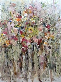 For Eloise by Lynne Pell | mixed media artwork | Ugallery Online Art Gallery