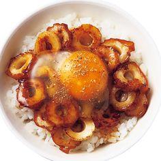 ちくわかば焼き卵かけご飯 | 瀬戸口しおりさんのごはんの料理レシピ | プロの簡単料理レシピはレタスクラブネット