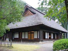東京立川市 Tokyo/川越道緑地古民家園ー市指定有形文化財 旧小林家住宅