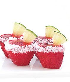 Recipe for Strawberry Margarita Jell O Shooters