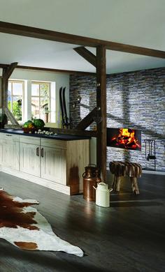 Kamin, Alpen, Landhausküche Tirol, Cozy Kitchen