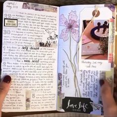 A quick flip through of my daily journal inside a Travelers Notebook. I hope you enjoy it ☺️ A quick flip through of my daily journal inside a Travelers Notebook. I hope you enjoy it ☺️ Bullet Journal Travel, Travel Journal Pages, Bullet Journal Notebook, Bullet Journal Ideas Pages, Bullet Journal Inspo, Bullet Journal Flip Through, Daily Journal Prompts, Notebook Art, Travel Journals