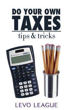 Tips for Doing Your Own Taxes | Money Talk | Levo League