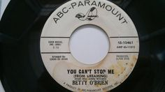 Popcorn  NORTHERN / Betty O Brien - You Can t Stop Me - ABC  / SOUL 45