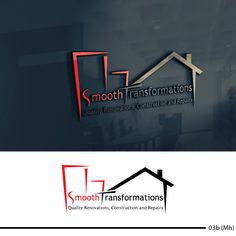 """Company name: """"Smooth Transformations"""" Quality Property Restoration and Repairs , We are a full service emergency and restoration commercial and residential construction company.Although we specialize in emergency fire and water. Construction Company Names, Construction Business Cards, Construction Logo Design, Bauunternehmen Logo, Building Logo, Arquitectura Logo, Design Company Names, Roofing Logo, Architect Logo"""