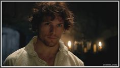 """Because there is an abundance of excellent Sam Heughan pictures and I just wanted to add another one ;). This is from """"Outlander"""" - Jamie's """"Je suis prest"""" moment."""