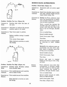 Personalized Patterns: Fitting & Altering - Page 21