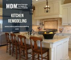 Do you want to add beauty and functionality to your old kitchen? But don't know who will be better for this job? Hire MDM Custom Remodeling Inc. is a family-owned, licensed, and insured Los Angeles kitchen remodeling contractor offering custom kitchen remodeling services at affordable prices. #Kitchenremodeling #remodeling #Kitchen #remodelingservice #Kitchenremodelingservice #Kitchenremodelingcontractors #contractors #Kitchenremodelingservicelos angeles #los angeles