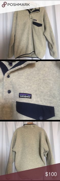 MENS MEDIUM PATAGONIA perfect to put on at anytime & SUPER warm!!! matches with almost anything! Barely worn! Patagonia Jackets & Coats