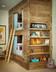 Pallet kids beds - simple and darling!