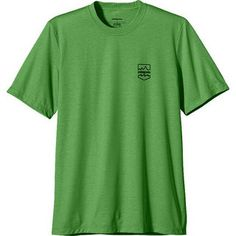 For midday shacks at a South Pacific reef spot, the men's Patagonia Polarized Tee is a lightweight T-shirt that provides vital 20-UPF protection from summer heat and tropical sun. #eco_active_you #organic_clothing_brands