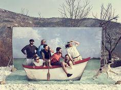 Inspiration mariage mer – photobooth barque - La Fabrique des Instants