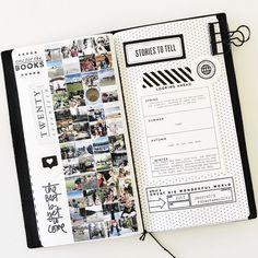 December Traveler's Notebook  by mamaorrelli at Studio Calico