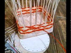 Výroba košíkov z pedigu s Ribišškou-Katarína Ameeta Holubová, KOCHLÍK NA MANDARINKY - YouTube
