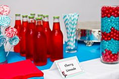 Cat in The Hat Birthday Party by foodiebride, via Flickr
