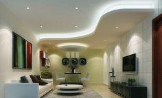 Jaw-Dropping Useful Tips: False Ceiling Diy Wall Colors false ceiling design couch. Drywall Ceiling, Gypsum Ceiling, False Ceiling Living Room, Bedroom Ceiling, False Ceiling Design, Pop Design, Faux Beams, Wood Beams, Plafond Design