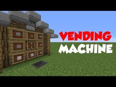 Minecraft 1.8: Redstone Tutorial - Vending Machine V2 (60fps) - YouTube