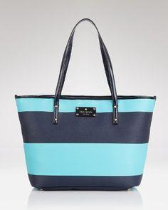 Kate Spade Boutique Stripe Small Harmony Purse Tote Shoulder Bag with Patent Leather Trim, Enoki Black White kate spade new york http://www.amazon.com/dp/B00EFE1J0M/ref=cm_sw_r_pi_dp_NjtXtb056D5YJB5J